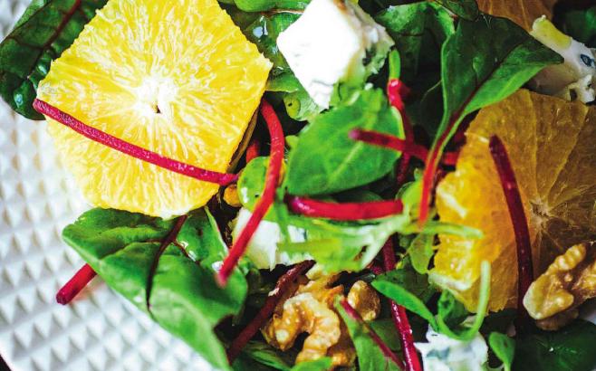 swiss-chard-orange-cheese-walnuts