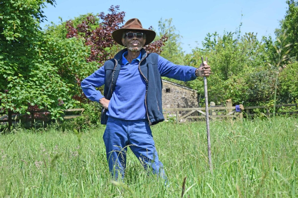 The Black Farmer, Wilfred Emmanuel-Jones MBE calls for more allotments to be amde available by the UK's big landowners