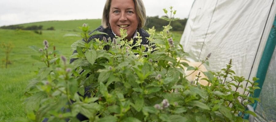 Sheena Horner chilli farmer and freelance consultant who founded #Run1000