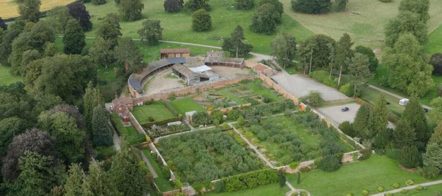 Restoration of unique 'Capability' Brown garden given lifeline after grant from Government's Culture Recovery Fund